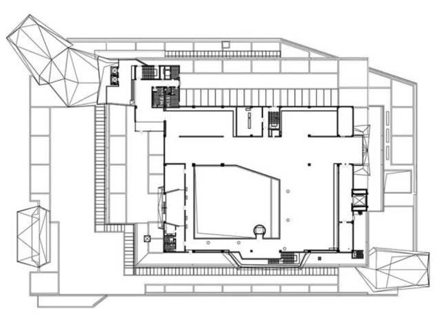 美术馆平面布置图资料下载