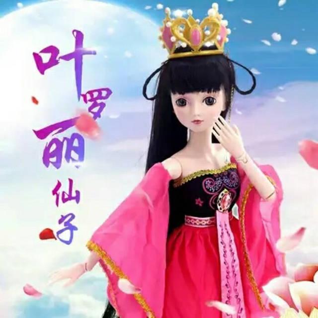 当叶罗丽仙子变成玩具娃娃,黑香菱漂亮至极,冰公主丑到家了?图片
