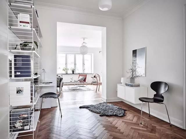 62平米北欧长方形公寓 不得不说特别赞