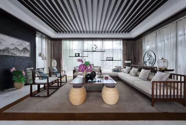 新中式客厅,让客人惊艳!