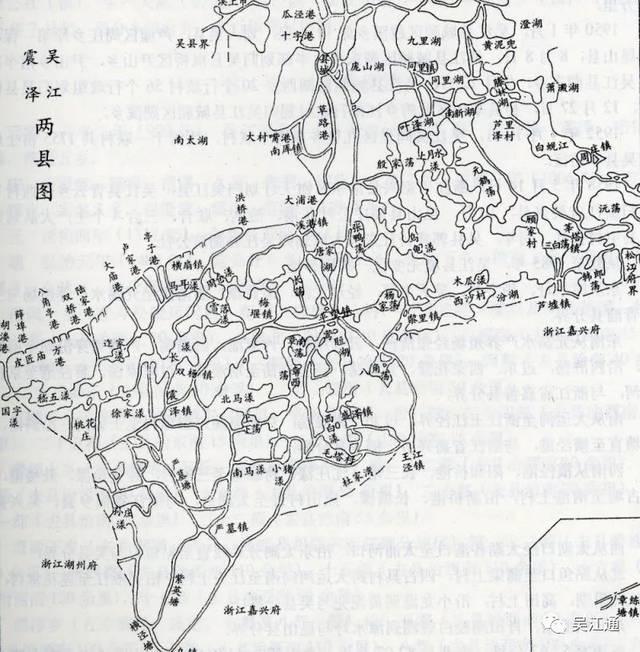 一▲吴江,震泽两县图(清同治《苏州府志》)毕业论文1000高中字图片