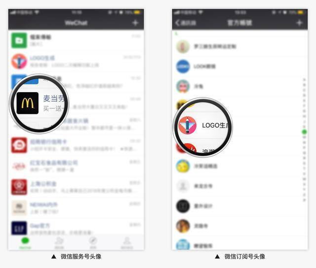 微信公众号头像logo制作技巧,真能节省推广费吗?
