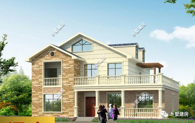 最美的农村配最好看的别墅,这几款优质别墅造型,你会选择哪款?图片