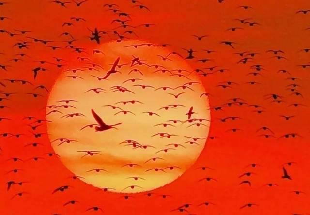乌龟瑀瑀独行 ,飓风吸水,动物赛跑,叶子漂浮等各种图形魔幻般的撞击着