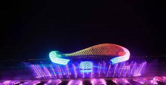 苏州湾音乐喷泉交通攻略图片