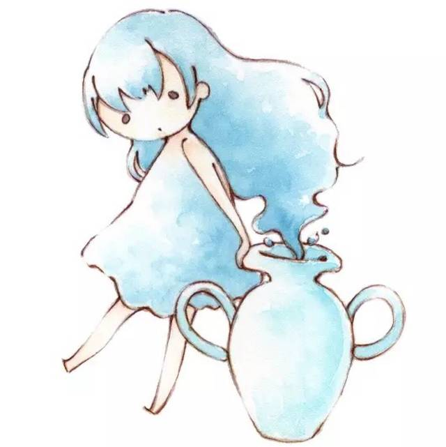 水瓶座o型巨蟹座的性格图片