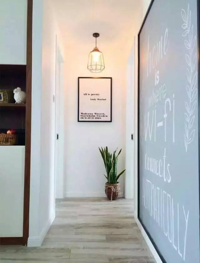 玄关走廊尽头如何设计?图片