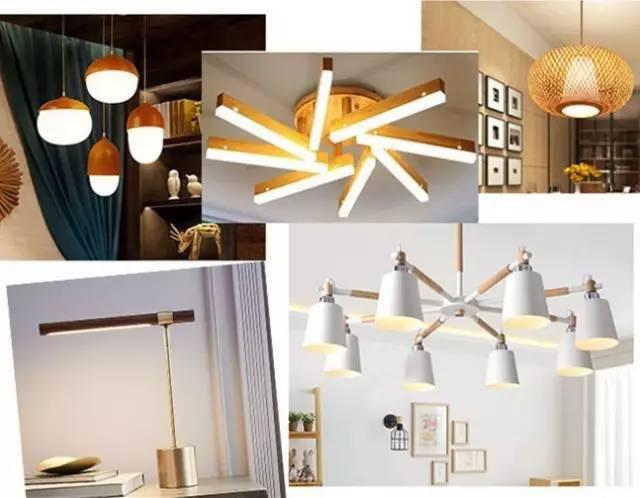 实用主义至上的北欧风家装的灯具造型简约,以实用为主.图片