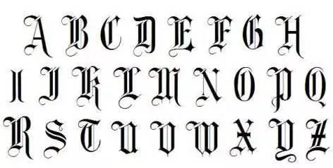 推荐几款好看又实用的英文书写字体给大家