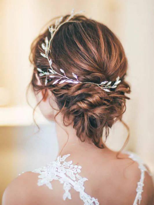 几大潮流款森系新娘发型,人群焦点不是梦!图片