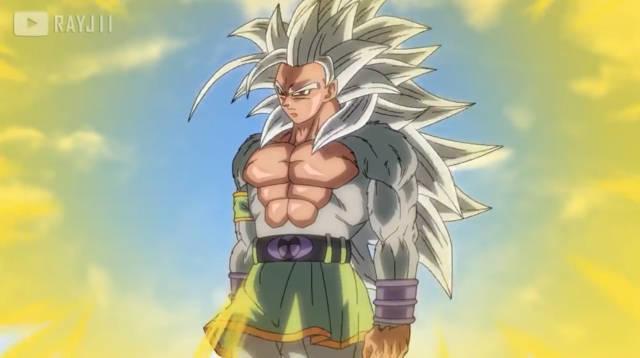 龙珠af,面对邪恶的儿子翟寇,悟空愤怒变身为超级赛亚人5!