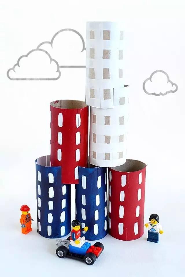 幼 制作丨幼儿园创意纸筒手工,让孩子从中找到乐趣!
