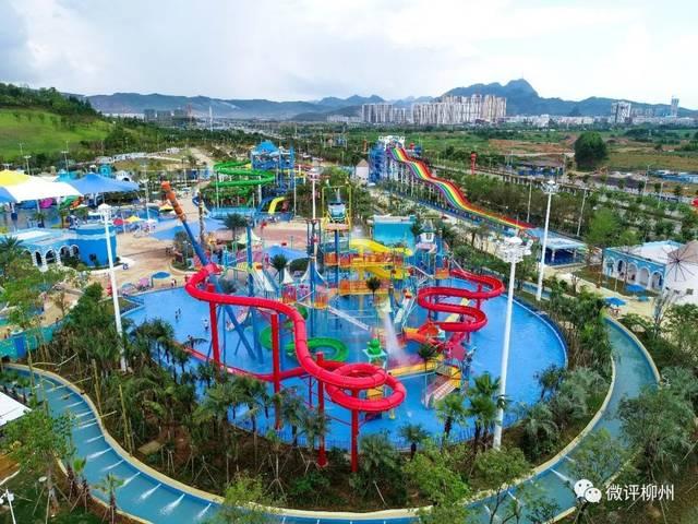柳州最大水上樂園開園!都有哪些刺激好玩的?-旅游頻道圖片