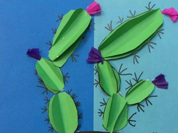 纸桶手工制作花