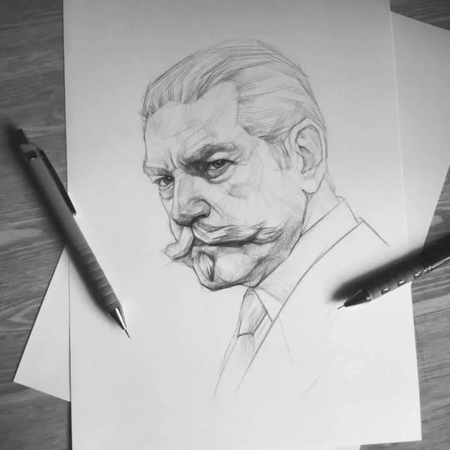 如果人物画成这样,素描,速写拿下不再是问题!