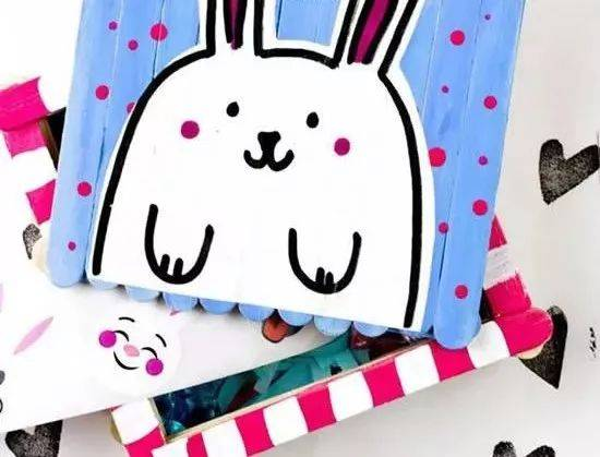 【创意手工】diy雪糕木棍手工制作漂亮的田园风收纳盒