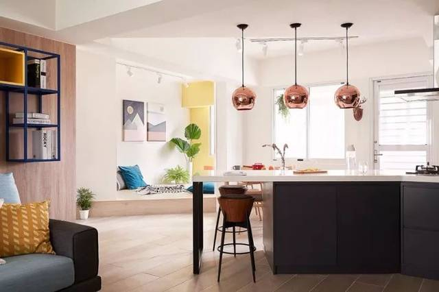 如此开放式厨房,才是中国式家庭社交新空间!