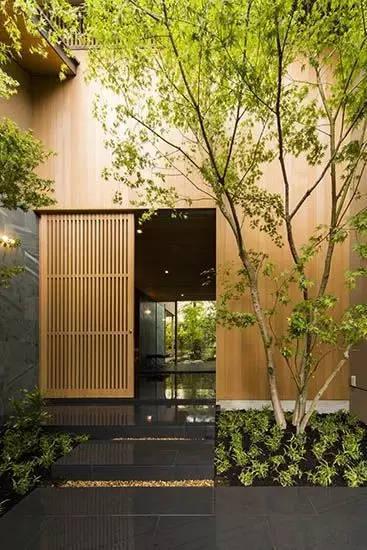 民宿设计:给你各式各样的80款庭院和别墅入口布置图片