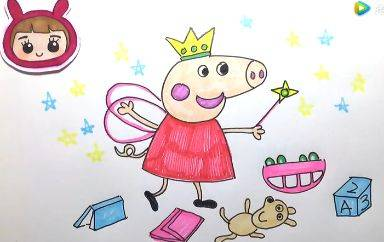 表扬小孩子画画进步的句子 在朋友圈晒画怎么说图片