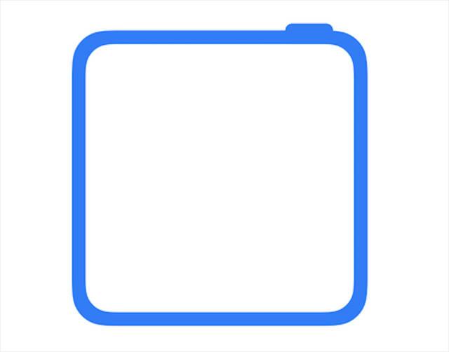 pro的支付图标应该并非是正式样式,毕竟苹果应该不至于发布一个正方形