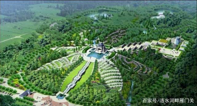 林徽因设计的八宝山公墓,像一朵盛开的花图片