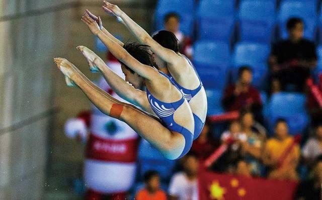 中国跳水梦之队,目标再夺十金!
