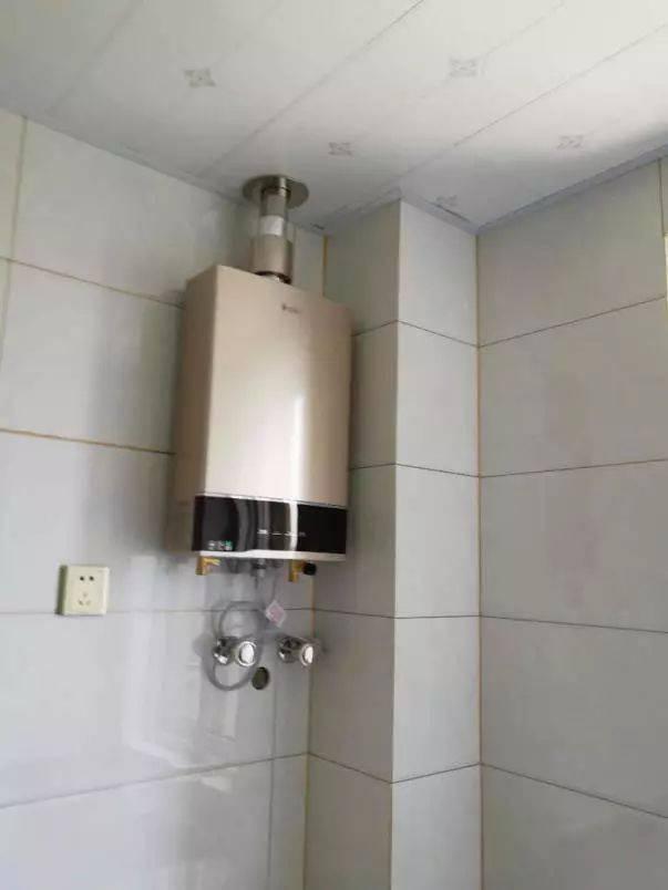 燃气管道及热水器安装注意事项图片