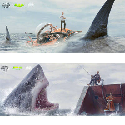 搜狐时尚专访李冰冰:畅聊与杰森·斯坦森《巨齿鲨》合作趣事图片