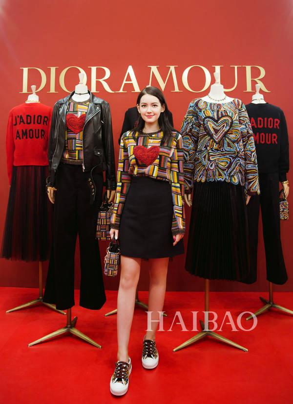 dioramour七夕情人节限定系列发布酒会,angelababy,王珞丹受邀出席