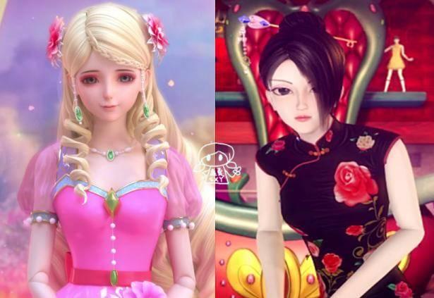 叶罗丽仙境中灵公主与辛灵仙子的相似之处,最后一个都图片