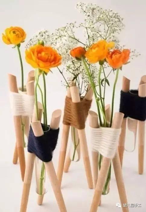 创意diy塑料瓶台灯 美翻了的花束造型台灯,吊灯手工制作,希望可要从图片
