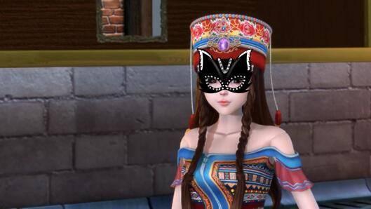 精灵梦叶罗丽:这七位女神戴上面具后,罗丽太可爱,冰公主最惊艳图片
