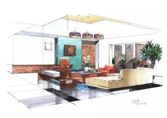 室内手绘:学手绘从基础到提高!——提高篇