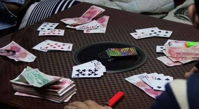 六合一村民家中开赌场半个月盈利一万余元 被警方一窝