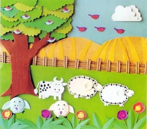 创意秋天主题墙饰,让孩子们感受丰收的喜悦图片