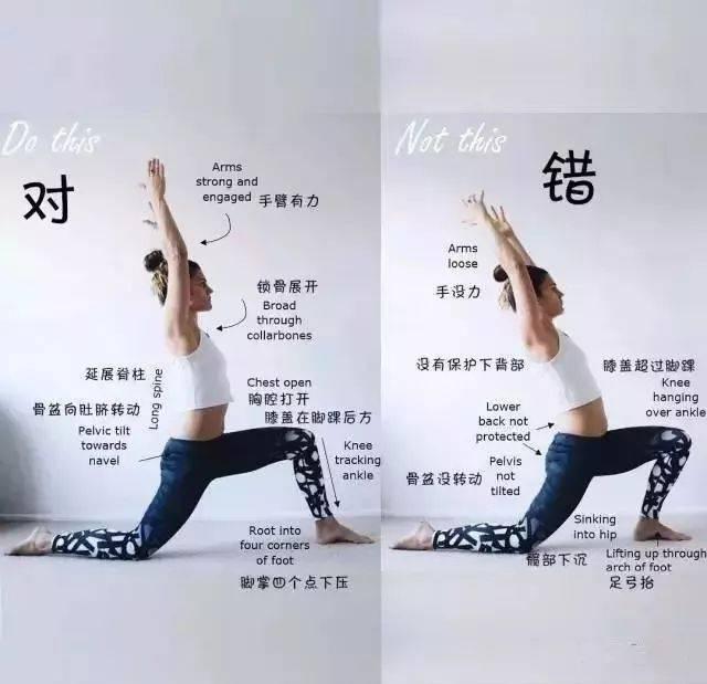 初學者練習瑜伽,最容易出錯的幾個體式,要注意了.圖片