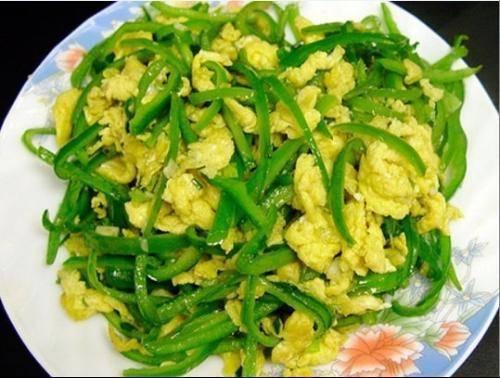 4,青椒炒鸡蛋