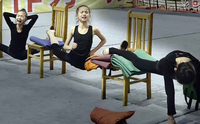 2014年10月,重庆市艺术体操队专业队成立,一个偶然的机会,吴崇顺走近图片