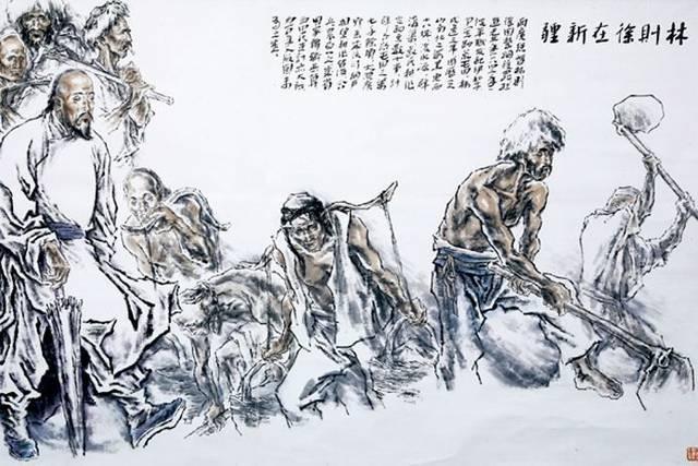 手绘汉代战争图片