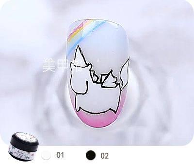 手绘款 彩虹独角兽