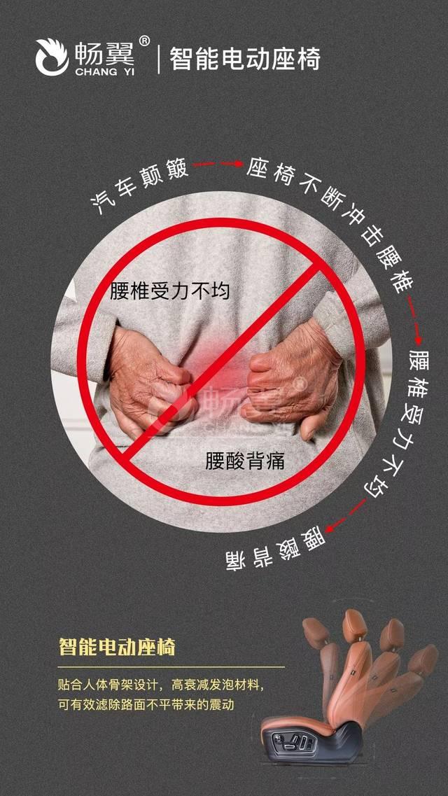 气动腰托支撑,一键按摩时刻守护腰椎健康图片