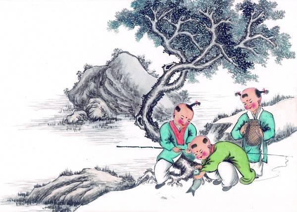 现代乞丐简笔画