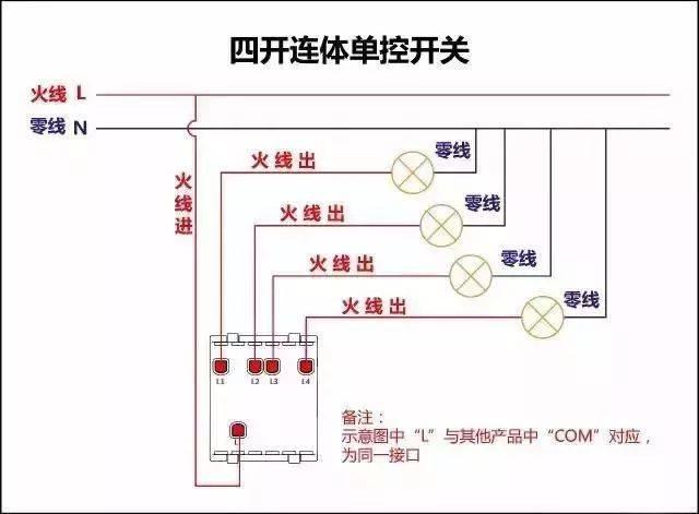 这些实用的开关接线图,你都熟悉了吗?