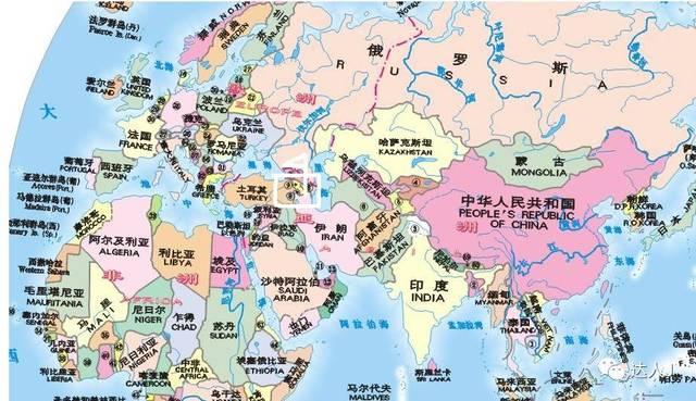 小天老师很有必要再解读下世界地图