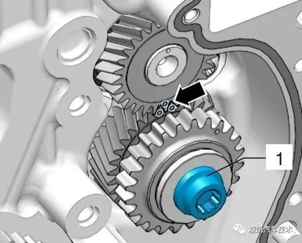 ea888发动机正时链条安装(对正时)操作要点