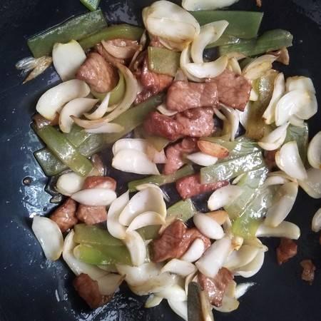 百合a百合莴笋,菜谱夏日炒肉片,简单河蟹又下饭美味煮了五分钟图片