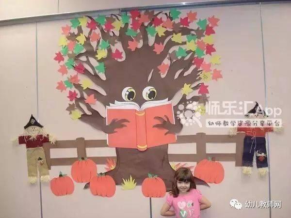 幼儿园秋季创意主题墙60款,开学必备!