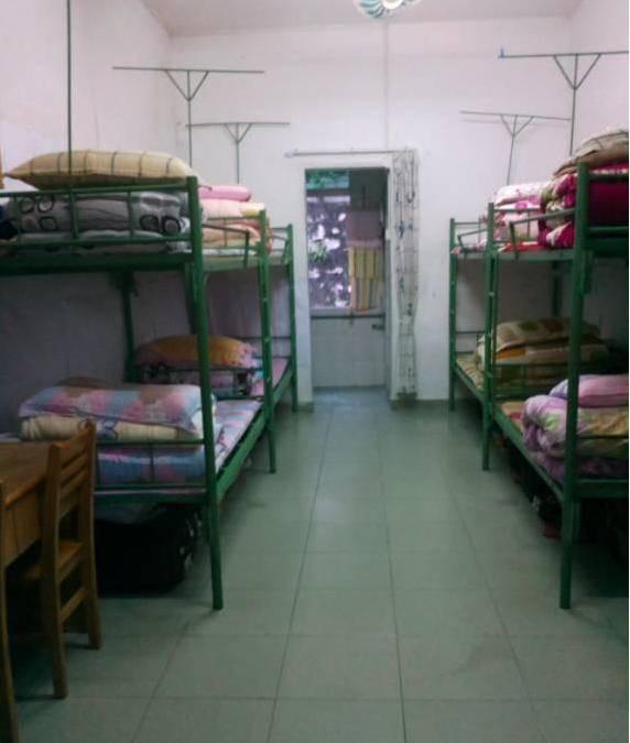广东金融学院肇庆校区的女生宿舍多数是八人间,环境最坑的非7栋莫属图片