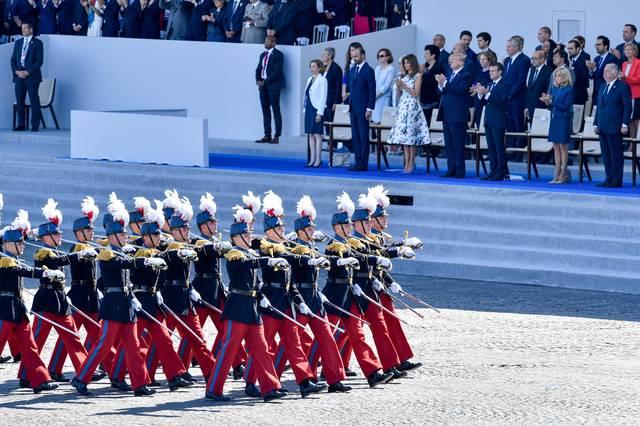 于是,特朗普好不容易说服了美国国会和军方,才把阅兵仪式的时间定在了