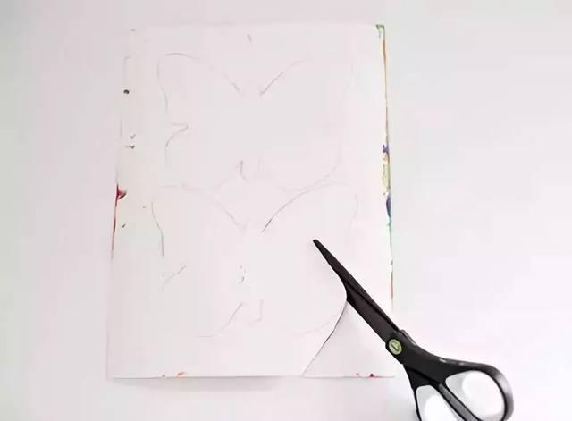 蝴蝶彩纸手工制作大全图解